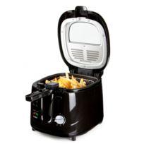 Domo - Friteuse 2,5L Filtre anti-odeurs - Design noir