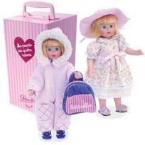 Petit Collin - Ma poupée des 4 saisons 21 cm : Malle et accessoires