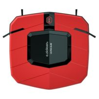E.ZICLEAN Aspirateur robot ultra slim red V2
