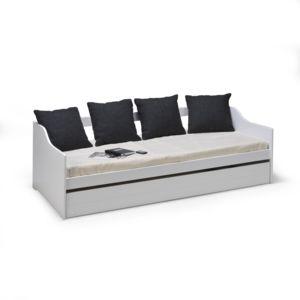 alin a cosy chambre lit banquette gigogne blanc avec. Black Bedroom Furniture Sets. Home Design Ideas