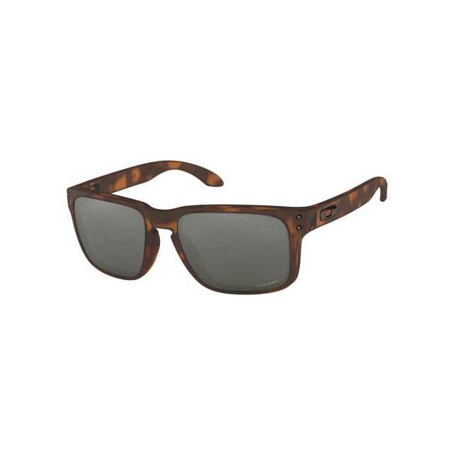 16b4aaf890e6e Oakley - Lunettes Oakley Holbrook O Matte Brown Tortoise avec verres Prizm  Black