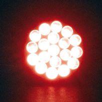 Simoni Racing - 1 Ampoule à 19 Led Bay15d Rouge