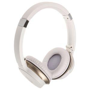 audio technica casque ath ar3bt bluetooth blanc pas cher achat vente micro casque. Black Bedroom Furniture Sets. Home Design Ideas