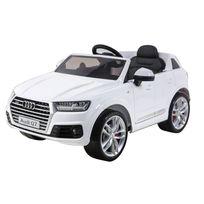 Happy Garden - Voiture électrique Audi Q7 - blanc