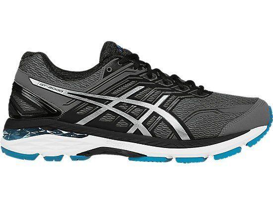 Asics Gel Gt 2000 5 Noire Et Bleue Chaussures de running