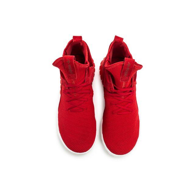 Adidas originals Tubular X Primeknit Rouge pas cher