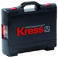 Kress - 98043805 Coffret Klick-box Ii Perceuses NOIR