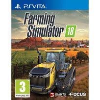 FOCUS - Farming Simulator 18 - PS Vita
