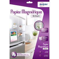 Avery - Papier magnétique brillant - C9420