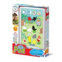 Clementoni - Tablette pad multicartes
