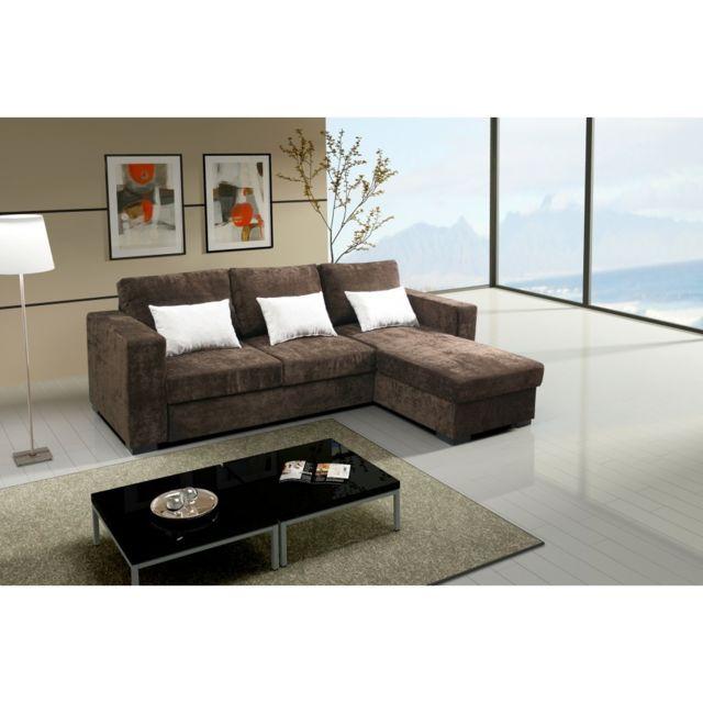 Rocambolesk Canapé Joe ibiza choco tissu sofa divan