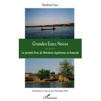L'HARMATTAN - grandes eaux noires ; le premier livre de littérature nigérienne en français