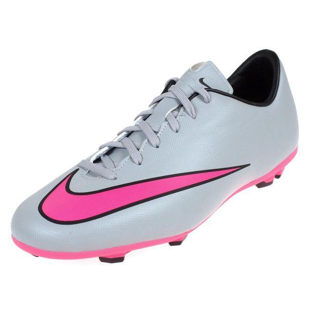 Chaussures football lamelles Mercurial victory grisrse Gris 48240