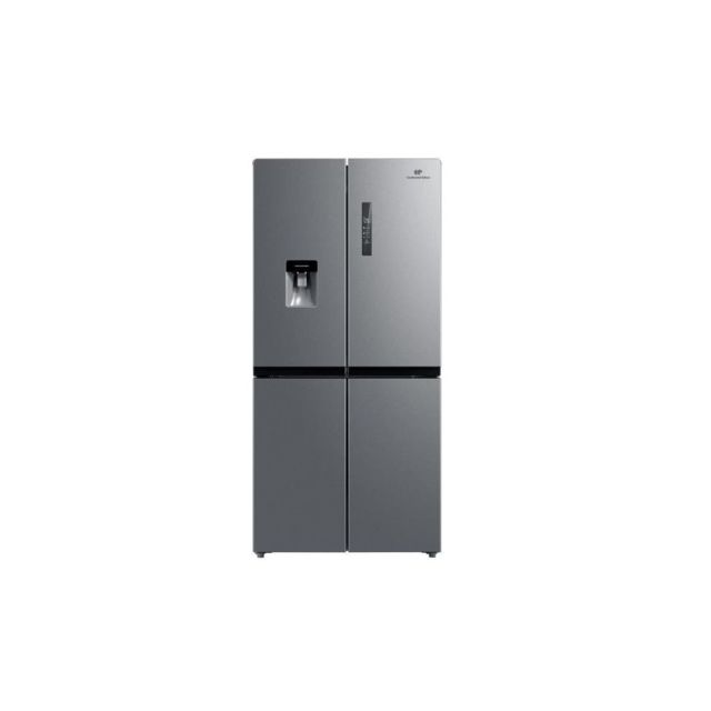 Continental Edison Ceranf544ddix - Refrigerateur Multi Portes - 467 L 327l + 140 L - No Frost - A+ - L 83,3 X H 177,5 Cm - Inox