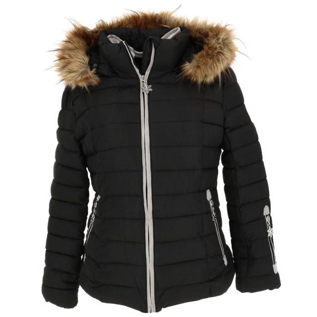 Eldera Sportswear Doudounes synthétiques Nebraska noir doudoune l Noir 59824