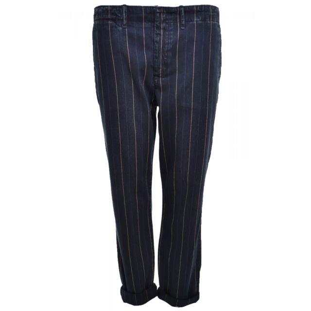 c3e6cd711030 Ralph Lauren - Pantalon bleu marine Eric pour femme 34 - pas cher Achat   Vente  Pantalon femme - RueDuCommerce