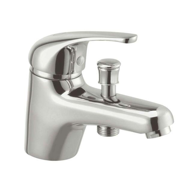 sterman - mitigeur bain douche monotrou laiton chromé saturnos