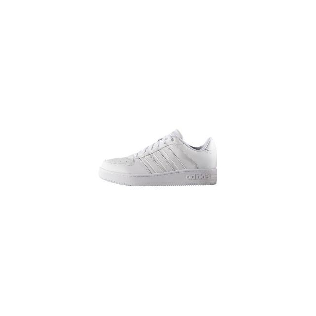 buy popular a6889 f0066 Adidas - Chaussures neo Team Court blanc - pas cher Achat   Vente Baskets  homme - RueDuCommerce
