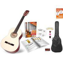 Antonio Calida - Calida Lucia 3/4 guitare de concert set de débutant nature avec accessoires