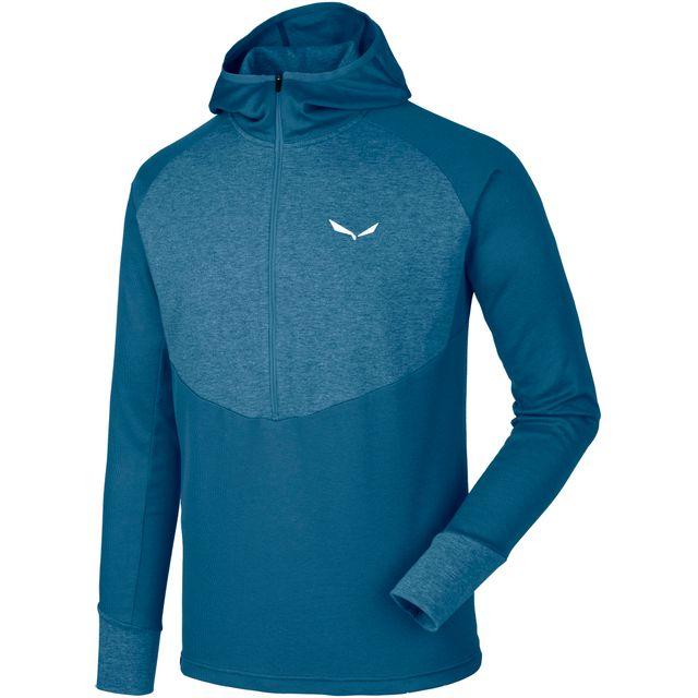 Shirt Cher Achat Sweat Vente Salewa Puez Pas Dry Bleu y7bf6gY