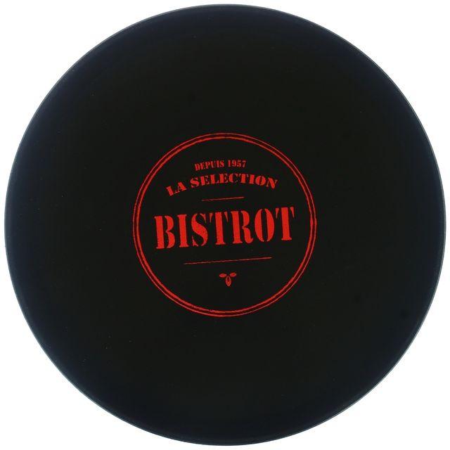 Promobo Plateau De Présentation Antidérapant Collection Bistrot Présentoir Pro Service Cocktail Dessert Fromage Rouge
