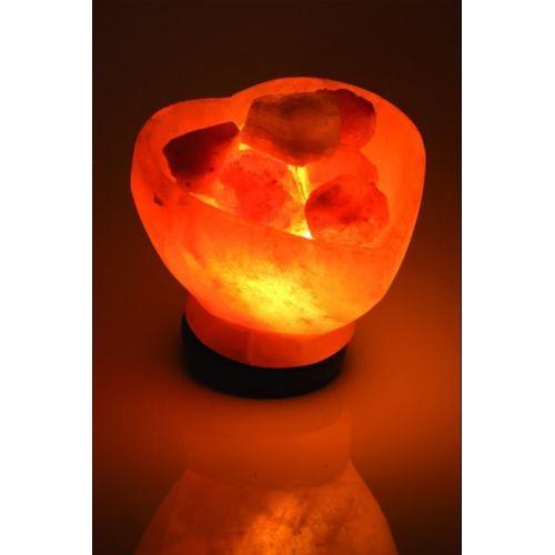 Lampe de sel - Bol Coeur
