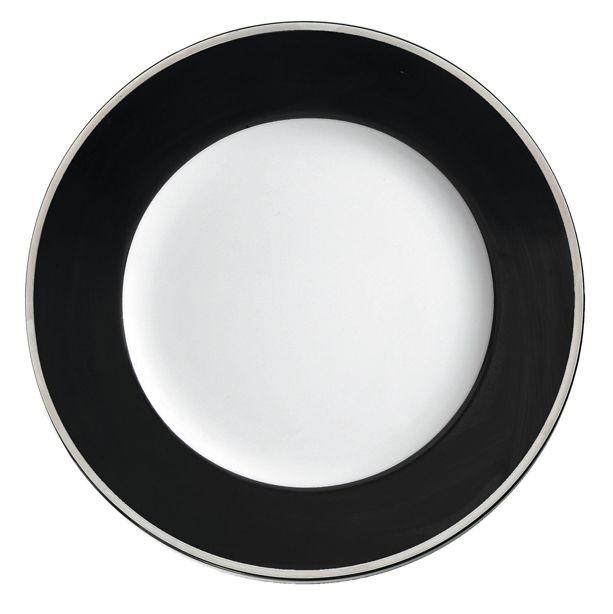 Lebrun Assiette plate 27 cm Cercle Black