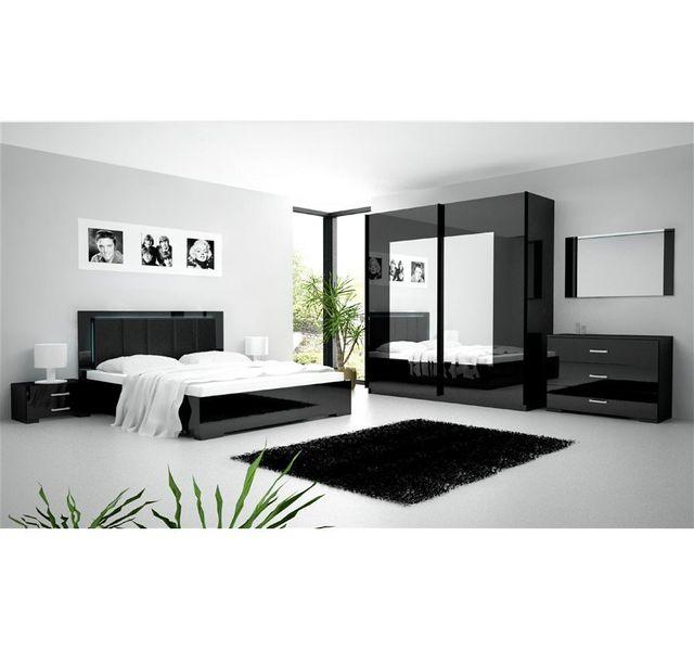 Chloe Decoration Chambre A Coucher Complete Roma 202x220x65 Cm