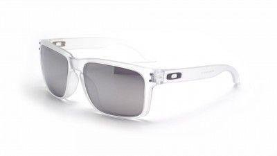 Oakley - Lunettes de soleil Holbrook Blanc Oo9102 O9102 9102-06 55-18 - pas  cher Achat   Vente Lunettes Tendance - RueDuCommerce 8e483a9667e3