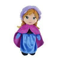 Nicotoys - La Reine des Neiges - La Reine des neiges peluche Anna 25 cm