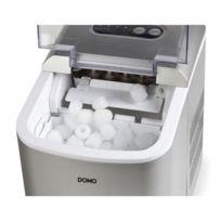 Domo - Machine à glaçons - Cycle de production rapide - Bac amovible