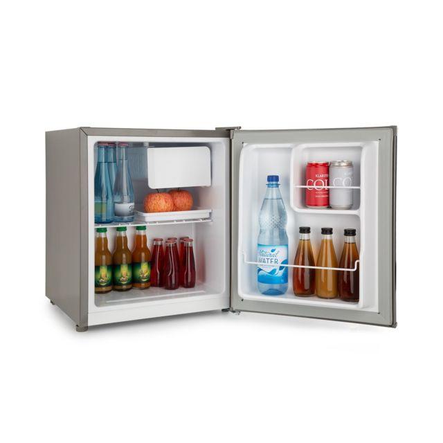 KLARSTEIN Snoopy Eco Mini réfrigérateur & congélateur 46 L - Minibar 41 dB classe A++ - gris