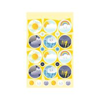 Maildor - Carnet 94 Étiquettes Autocollantes Ecole et Quotidien - Appréciations