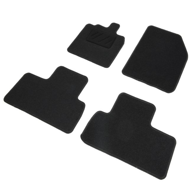 dbs tapis auto voiture sur mesure pour renault scenic 3 et grand scenic 02 2009 12 2016. Black Bedroom Furniture Sets. Home Design Ideas