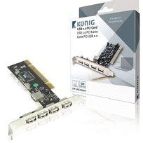 KONIG - Carte PCI USB 2.0