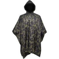 c6e011ccb Superbe Vêtements de plein air ligne Djibouti Poncho imperméable militaire  pour Camping/Randonnée Camouflage