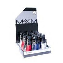 Maxim - Briquet 3 flammes bleues Colleville Dl-12 rouge