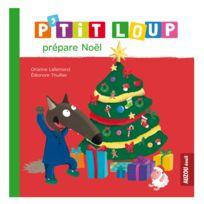 Editions Auzou - Livre d'éveil : P'tit Loup prépare Noël