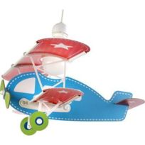 Dalber - Suspension Enfant Avion Bleu 54002