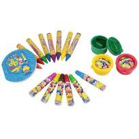 Playdoh - Play Doh Boîte de Coloriage et Pâte a Modeler