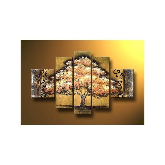 Deco Soon - Tableau Peinture Ombre Arbre - pas cher Achat / Vente Tableaux, peintures ...