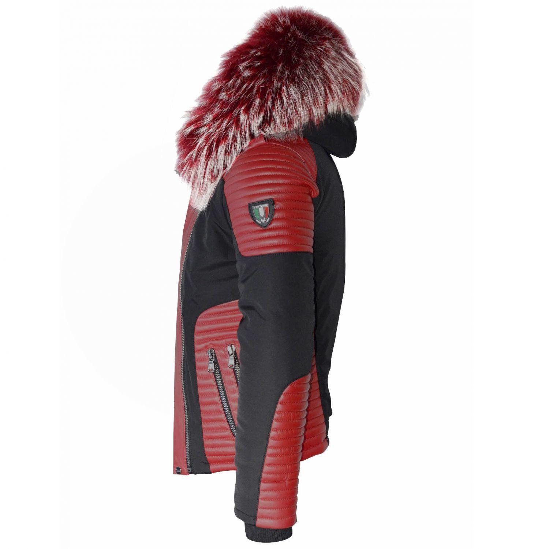 16ac6eb7b31 ventiuno-maserati-veste-doudoune-bi-matiere-rouge-fourrure-veritable-rouge -meches-blances-taille-max-cuir-d-agneau-rouge.jpg
