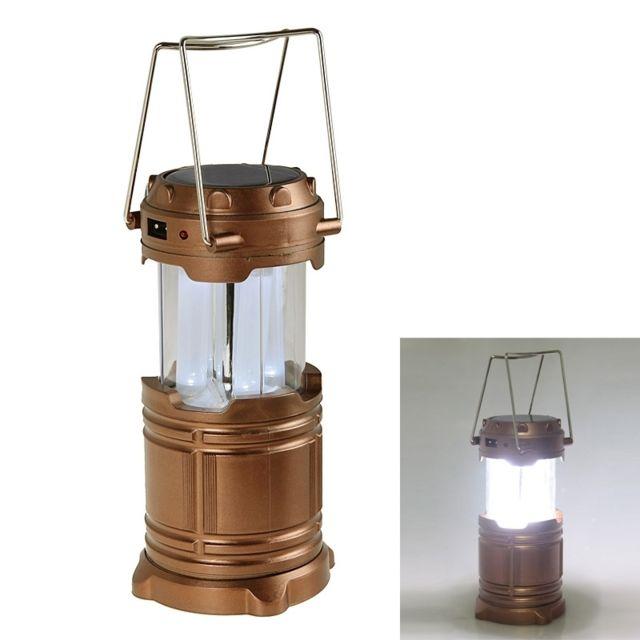Sortie Usb Or De Camping Solaire Avec Lampe À 8 Led Énergie nO0wPZ8XkN