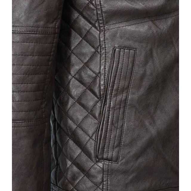 Freeside - Veste cuir pour homme Veste 239 marron