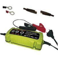 Comutech - Chargeur 6 Volts-12 Volts 3.5 Ampères pour auto, moto, bateaux. Ref 100801