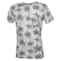 Blend Of America - Tee shirt manches courtes Blend Harry dk navy blue mc tee Blanc 45453