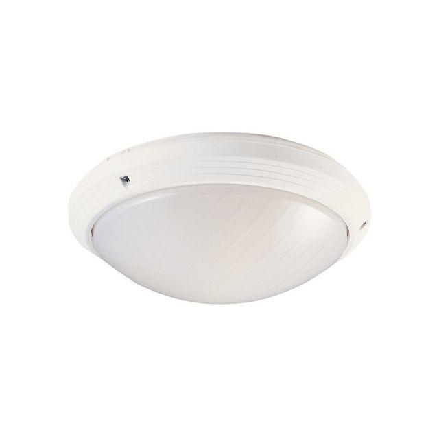 Aric Hublot décoratif extérieur rond diamètre 270 mm 270t blanc