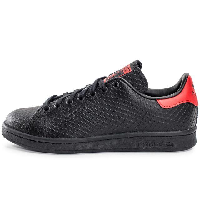 nouveau concept 0878c 6d361 Adidas originals - Stan Smith Serpent Noir Et Rouge 36 2/3 ...