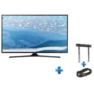 samsung tv led ue 40ku6000 support mural cable hdmi. Black Bedroom Furniture Sets. Home Design Ideas