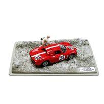 Best Model - 9608 - Ferrari 250 Lm - Test Le Mans 1965 - ÉCHELLE - 1/43